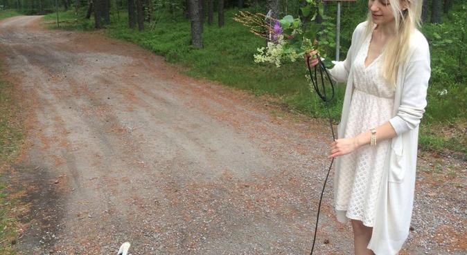 Älskar hundar och långa promenader oavsett väder:), hundvakt nära Örebro
