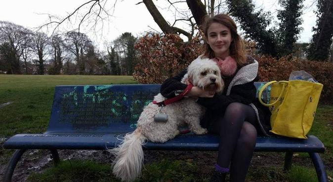 Happy dog walker, dog sitter in Liverpool