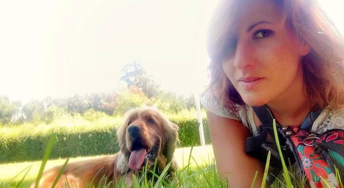 Coccole passeggiate e divertimento per cani felici, dog sitter a Roma