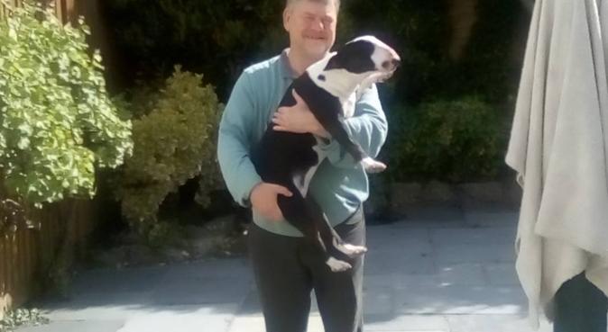 Nigel Peck, dog sitter in Orpington