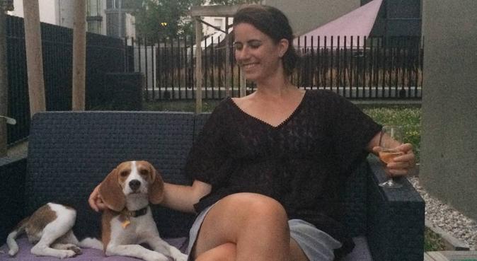 Balade au parc blandan et sur les quais, dog sitter à Lyon