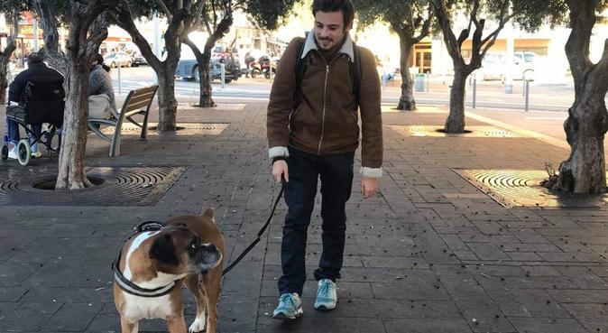 L'amoureux des chiens à Nice, dog sitter à Nice, France