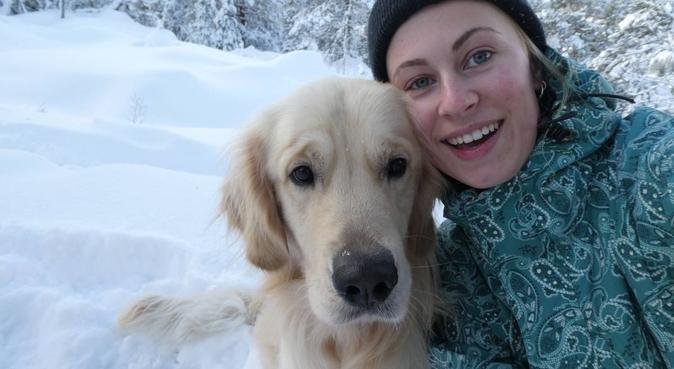 Turglad hundeelsker, hundepassere i Trondheim