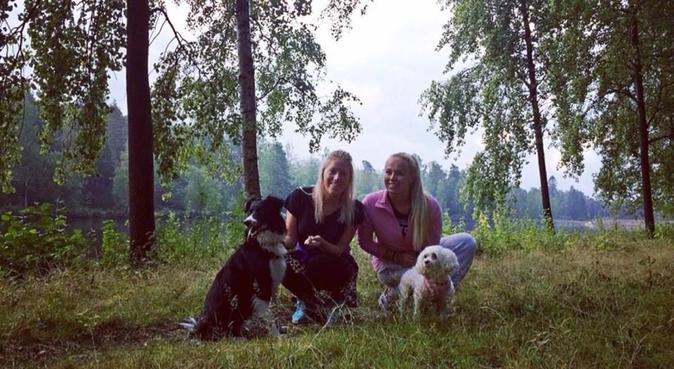 Kos, lek og tur på Løren🐶, hundepassere i Oslo, Norge