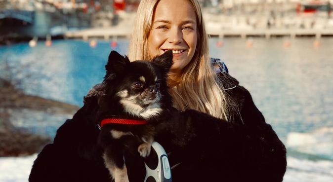 Hundkär student med egen chihuahua i centrala Lund, hundvakt nära Lund, Sverige