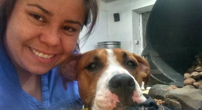 Respeto y amor por los animales, canguro en Villafranca del Panadés