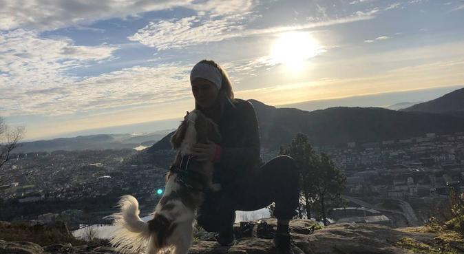 Ut på tur, aldri sur!, hundepassere i Bergen