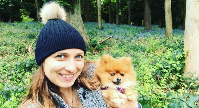 Happy pooches with Lexi, dog sitter in Oxford