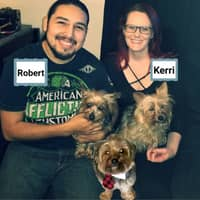 pet sitter Robert & Kerri