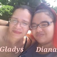 dog walker Diana & Gladys