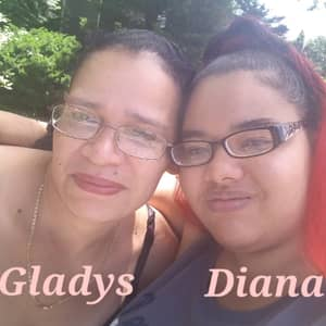 Diana & Gladys F.