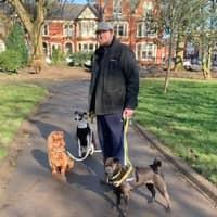 dog walker Tom