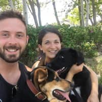 dog walker Joshua & Cecelia