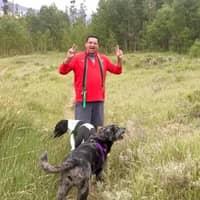 dog walker Rick