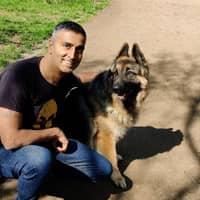 dog walker Jayesh