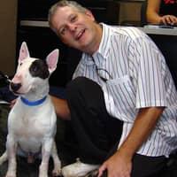 dog walker Gary and Eileen