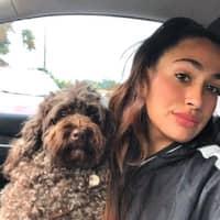 dog walker Daniella