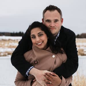 Uzma & Christopher W.