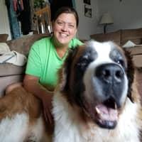 dog walker Audrey & Tommy