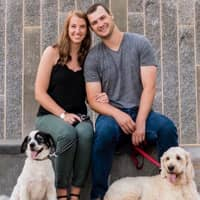 pet sitter Mary & Andrew