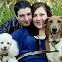 dog walker Matthew & Bethany