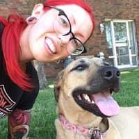 dog walker Carrie-Ann