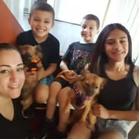 dog walker Lourdes & Jairo